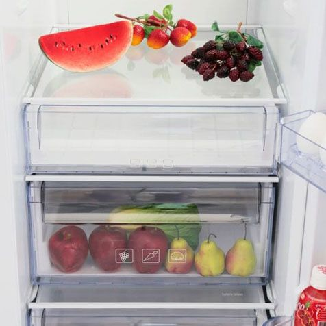 Холодильник BEKO GN 163120 W - холодильная камера