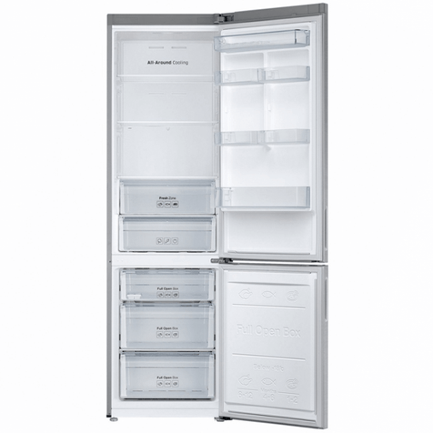 Холодильник Samsung RB37J5200SA - внутренние полки и ящики