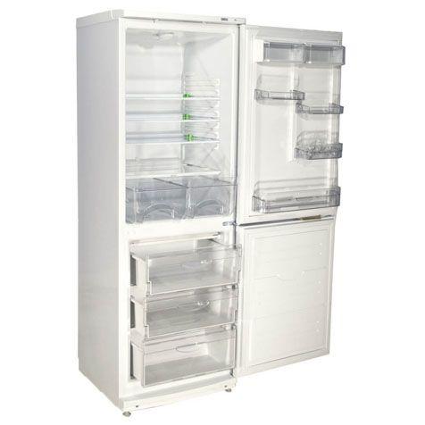 3D модель: Холодильник ATLANT ХМ 4012-022 - холодильная и морозильная камеры
