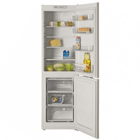 Холодильник ATLANT ХМ 4214-000 - продукты на полках