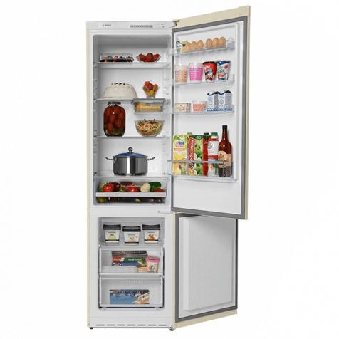 Холодильник Bosch KGV39VK23R - полки и ящики