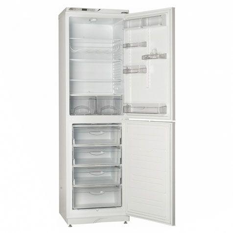 Холодильник ATLANT МХМ 1845-62 - полки и ящики внутри