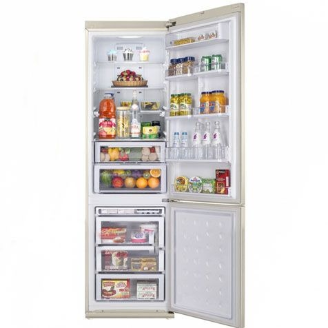 Холодильник Samsung RL55TEBVB - камеры внутри