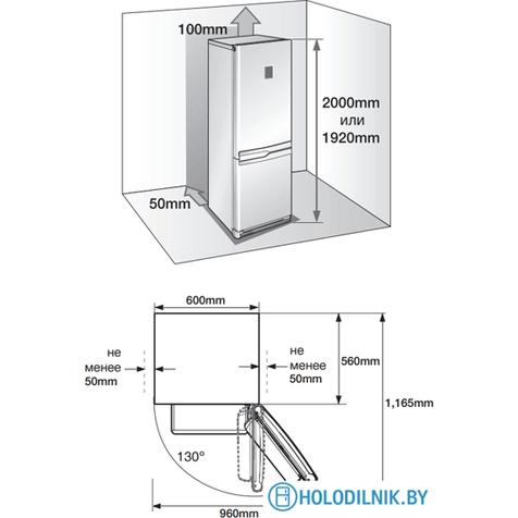 Холодильник Samsung RL55TEBVB