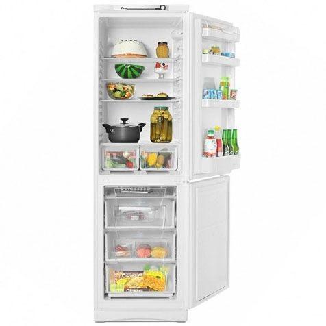Холодильник Indesit SB 200 - полки и ящики