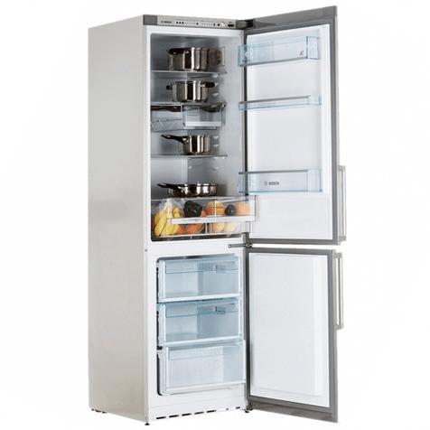 Холодильник Bosch KGS36XL20R - холодильная и морозильная камеры