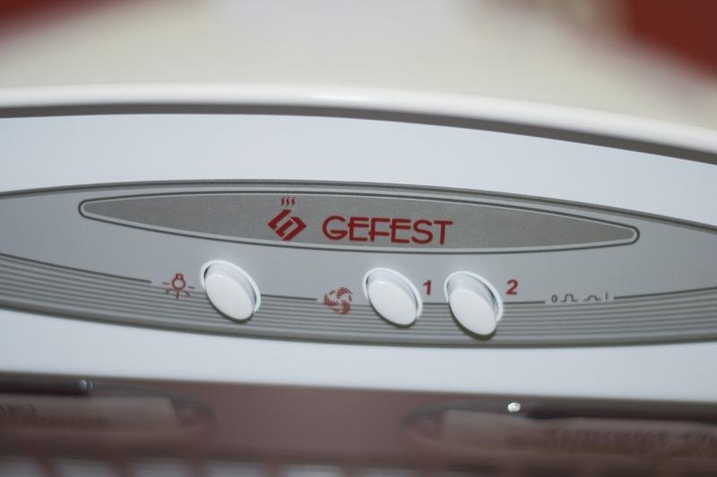 Кухонная вытяжка Gefest ВВ-2 Панель управления