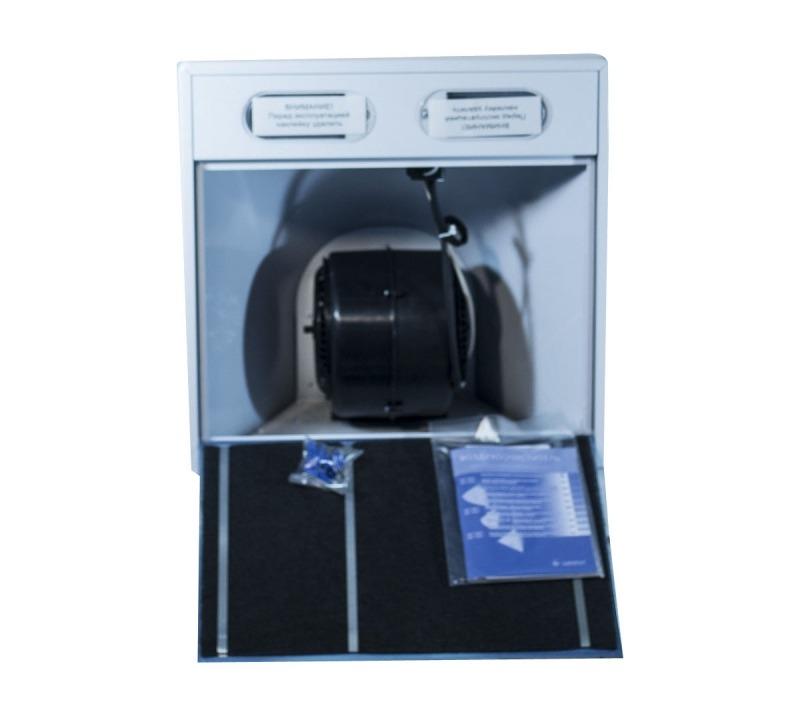 3D модель: кухонная вытяжка Gefest ВО 1502 изнутри
