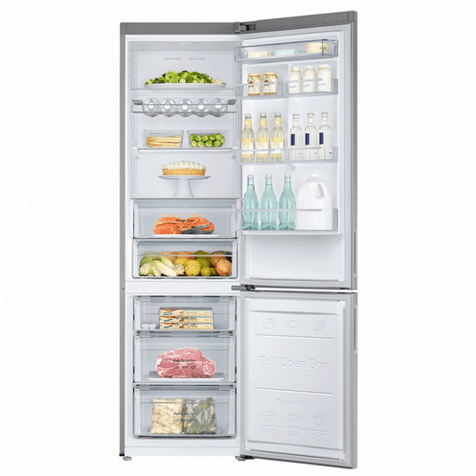 Холодильник Samsung RB37J5240SA - полки внутри