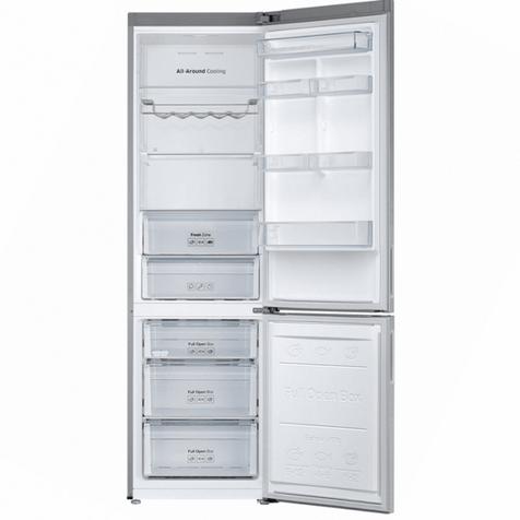 Холодильник Samsung RB37J5240SA - холодильная и морозильная камеры