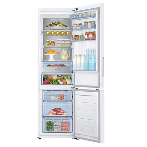 Холодильник Samsung RB37K63411L - полки с продуктами