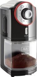 Кофемолка Melitta Molino (черный/красный)